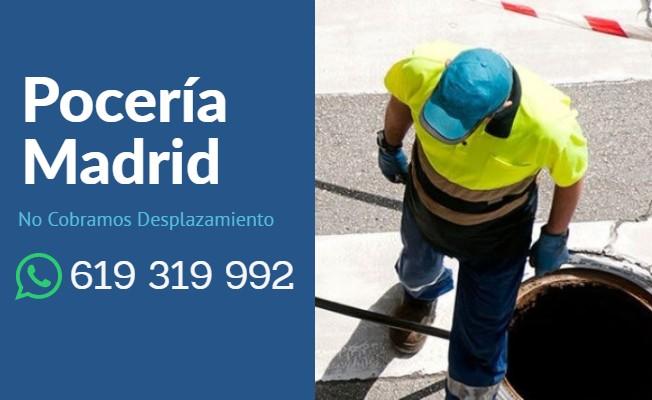 Servicio de poceria en Madrid urgente